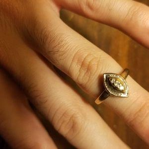 10k gold diamond ring real earth mined diamonds